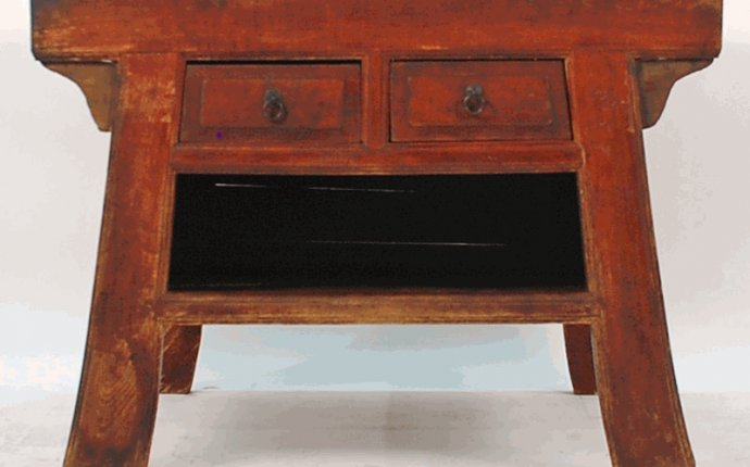 Antique Asian Furniture: Antique Mongolian Noodle Table from