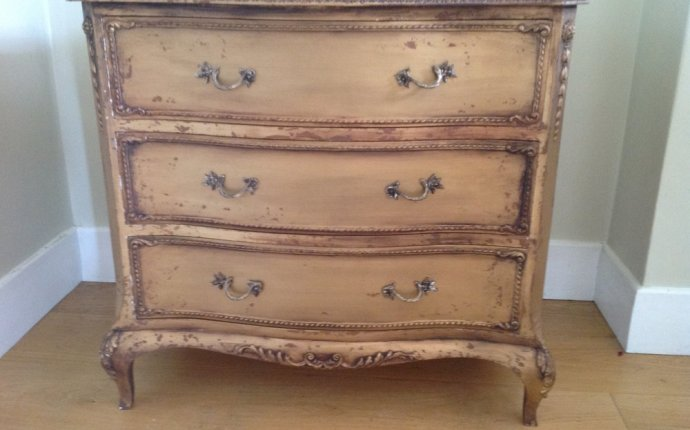 Antiques Atlas - Small Gold Chest Of Drawers
