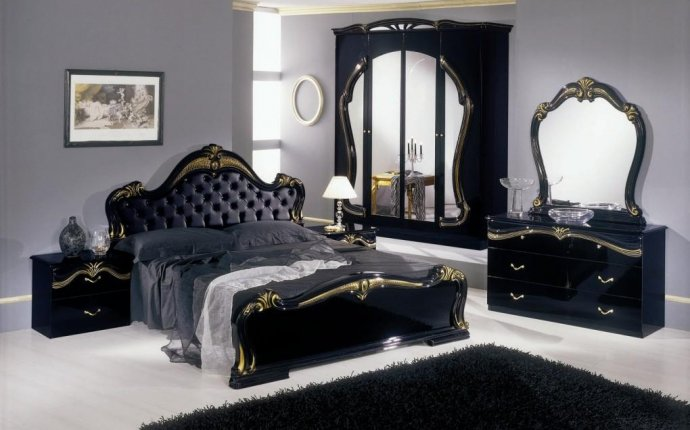 Bedroom Antique Black Bedroom Furniture Home Decor Interior