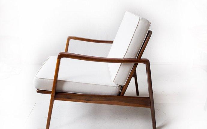 Deense fauteuil van Arne Wahl Iversen | Vintage Furniture Base