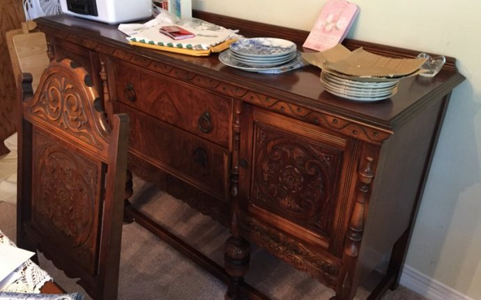Jacobean carved dining 1900 | Dining Room Set, Table 6 Chairs