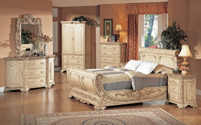 Antique Finish Bedroom Furniture