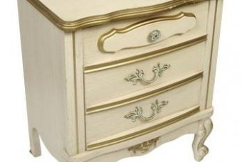 Antique white is the essence of French Provincial.