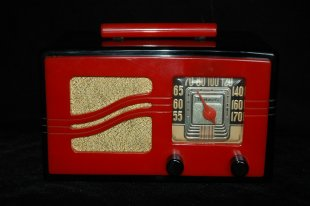 art deco radio