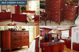 Design Mistakes_Wood Finishes to Stay away from_red cherry wood
