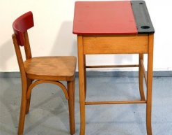 French Vintage for Kids' Rooms: Baumann Desk and Chair