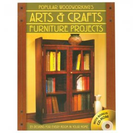 Roll up your sleeves and build your own Arts and Craft furniture. Photo: Woodcraft.com