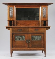 The Sideboard That Inspired an Odyssey - A 1903 Production Piece by Harris Lebus